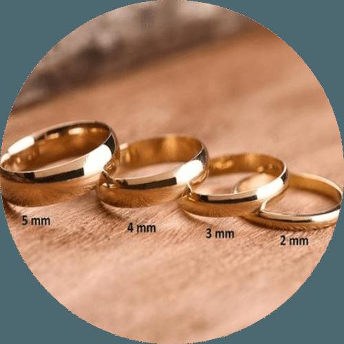 Silverworks - Wedding Ring Sizes