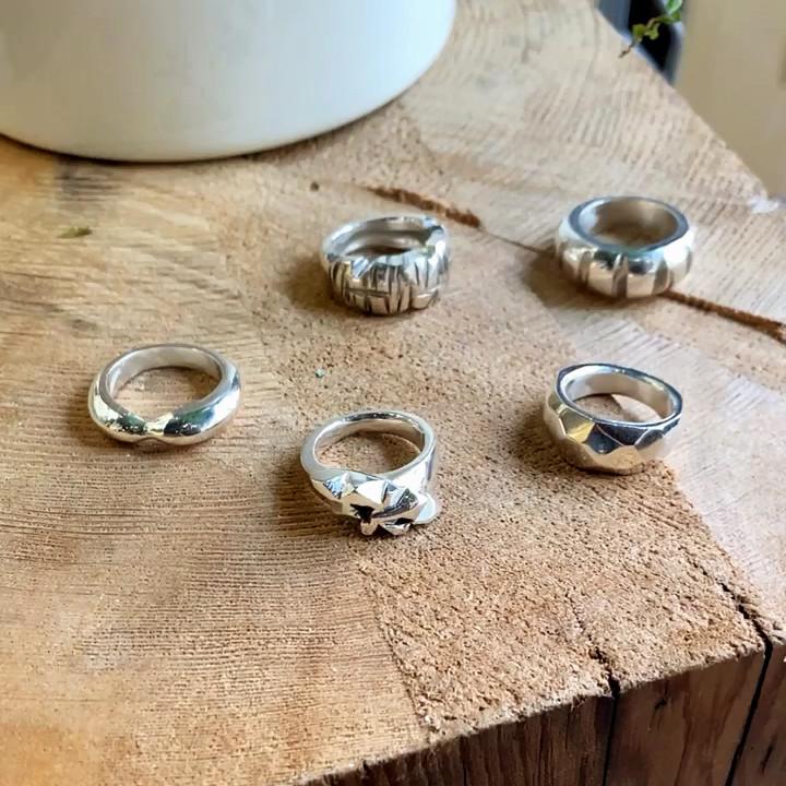 Silverworks - Jewellery Making Classes - Five ring b