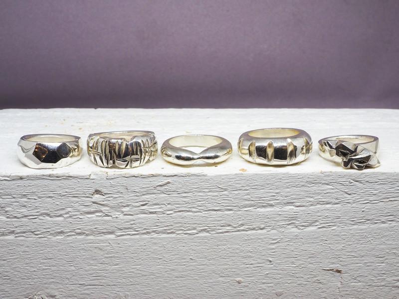 Silverworks - 5 Rings in a row