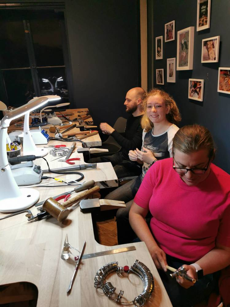 Silverworks - Jewellery Classes - Christmas Party (1)