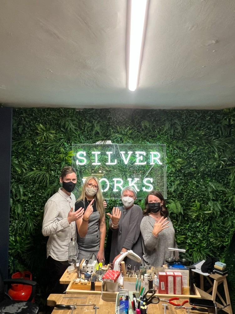 Silverworks - Jewellery Classes - Christmas Party (3)