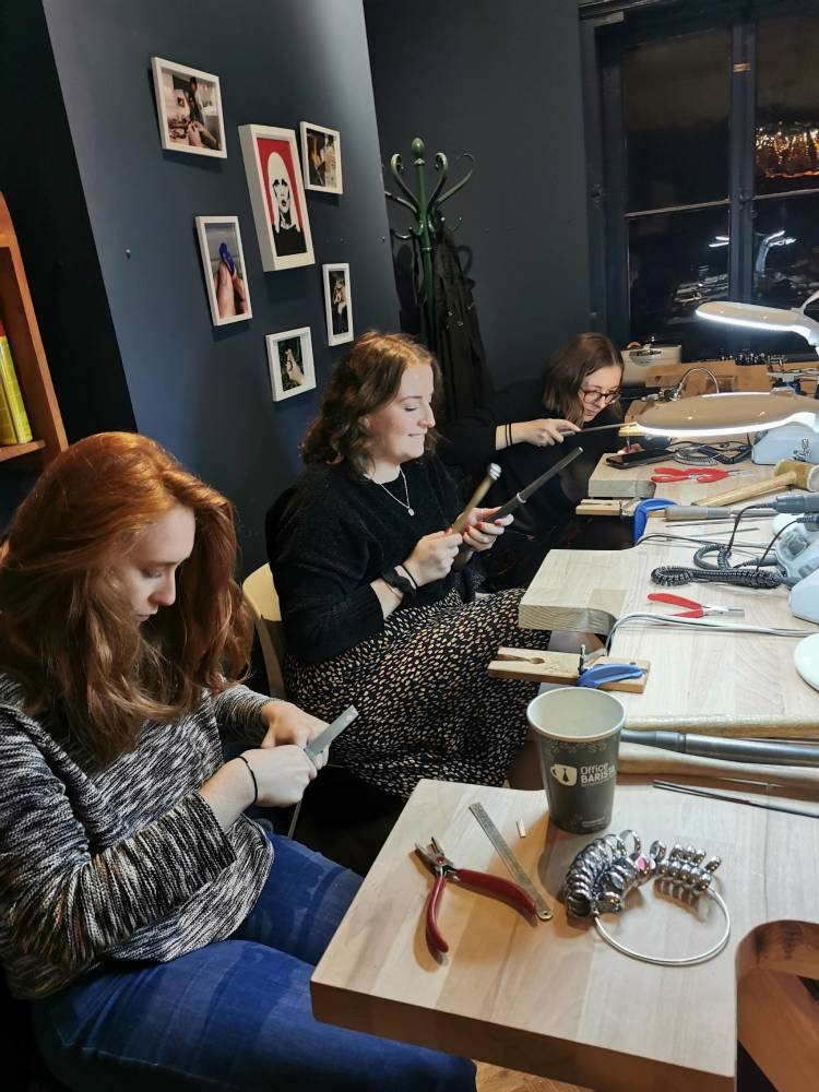 Silverworks - Jewellery Classes - Christmas Party (5)